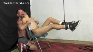 bronson tickled until he cums