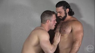 hairy top jaxton wheeler fucks muscle bottom
