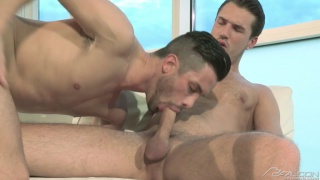 andrea gives theo one of the hottest blowjobs ever