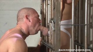 buzz isaac lets his slave out of his cage