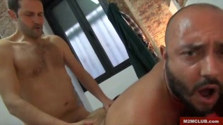 Spaniard fucks Italian guy in Madrid