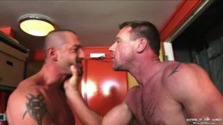 Liam takes Korben's cock deep inside him