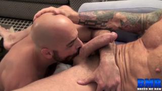 Rocco Steele barebacks Adam Russo
