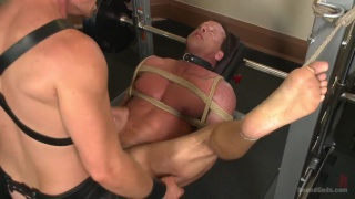 derek pain's tortuous gym workout