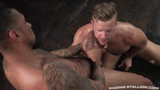 Brian Bonds and Boomer Banks flip flop fucking