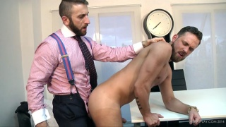 business man fucks his cocky real estate agent