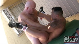 daddies get together for a hot fuck