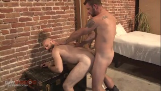 morgan black and james roscoe fuck raw