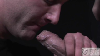 hung jonny kingdom sits on james dixon's cock
