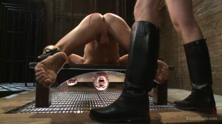 new boy dylan knight serves in the dungeon