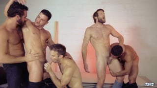4 men gang bang paddy o'brian's ass