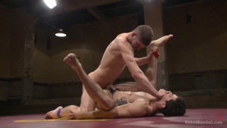 Conner Halsted vs Mikoah Kan wrestler nude and fuck