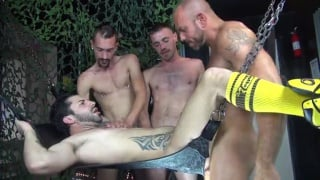 Brett Bradley and Vincent Knight bring their huge cocks