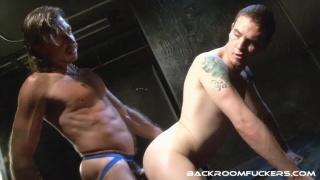 Ray Dalton opens Rowdy McBeal hairy hole