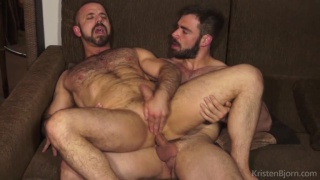 Felipe fucks and creams Jose?s wet hole