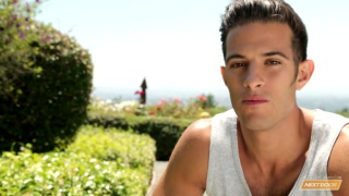 Sicilian-born hunk jacking off