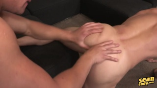 blond hunk gets a good ass fucking
