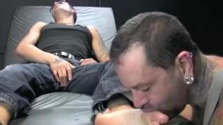 Gay sock and toe sucking