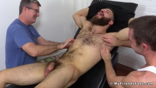 tommy defendi gets his big feet tickled