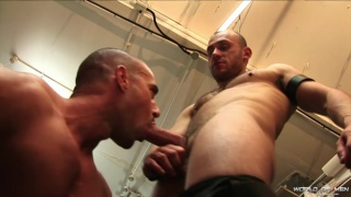 smell of leather makes these men horny