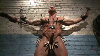 bodybuilder tatum goes 3 rounds in dungeon