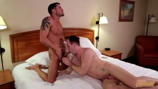 Cody Cummings gets blowjob from Kayden Bennet