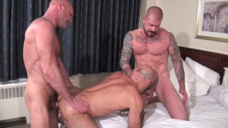 rocco steele threeway with Chad Brock and Adam Russo
