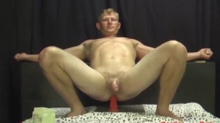 3 dildos for dustin's hungry holes