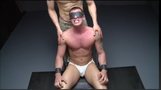 lieutenant gets electrifying nipple play