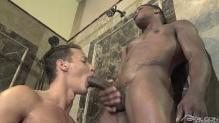 sharing a shower - Darius Ferdynand & Adrian Hart