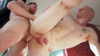 saxon west arches his ass for 10 inches of dick