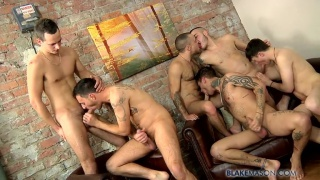 Blake Mason Gang Bangs through it 1000th scene