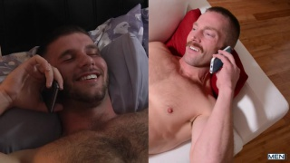 ginger top Adam Herst fucks furry bottom Jimmy Fanz