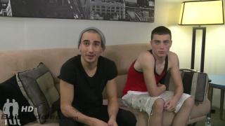 gay guy sucks skinny straight dude's dick