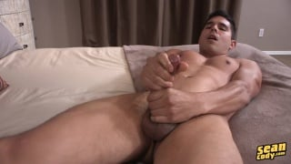 sexy guy clint makes his first video for sean cody