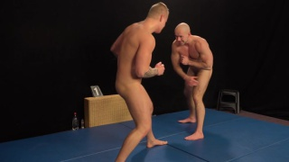 naked wrestlers Jindra Durak and Marek Borek