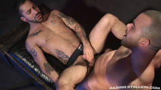 Damien Crosse fucks Nick Cross' ass