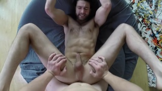 abel's tight ass loves tom's hard cock