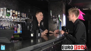 bartender fucks his trainee
