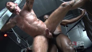 Hung black top Cutler X makes Ray Dalton his bitch