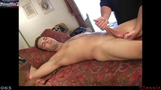 kip gets a rub and tug