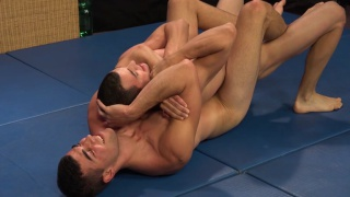 czech brothers wrestle each other naked