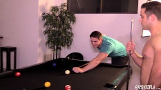 a game of strip billiards turns very hardcore