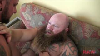 raw fucking a big bad bearded bear