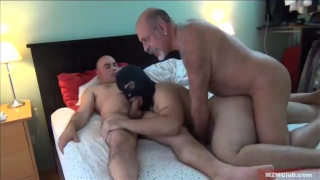 daddy gives his fuck toy to another man