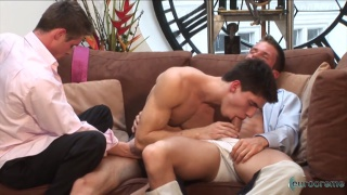 horny young executives fuck at the office