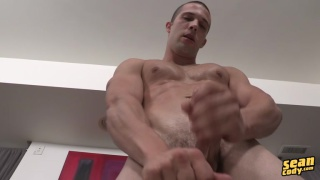 james jerking off his fat dick