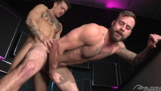 Chris Bines bottoms for tattooed Sebastian Kross