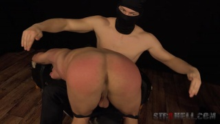 andrej gets his beefy ass spanked