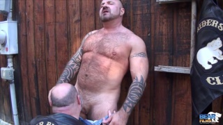 Marc Angelo gets head from Tristan Riant